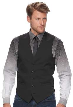 Apt. 9 Men's Premier Flex Slim-Fit Black Suit Vest