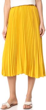 Endless Rose Pleated Long Skirt