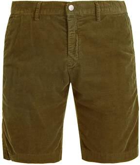 Massimo Alba Straight-leg cotton-corduroy shorts
