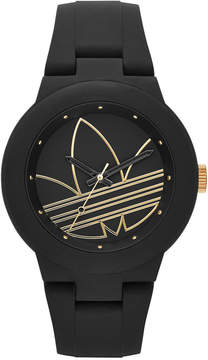 adidas Women's Originals Black Silicone Strap Watch 41mm ADH3013