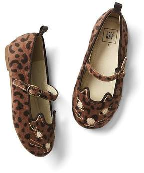Gap Cat velour ballet flats