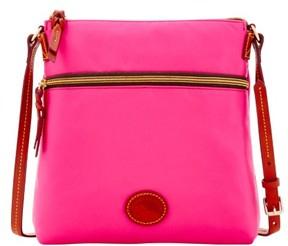 Dooney & Bourke Nylon Crossbody Shoulder Bag - FUCHSIA - STYLE