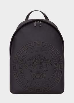 Versace Embossed Medusa Backpack