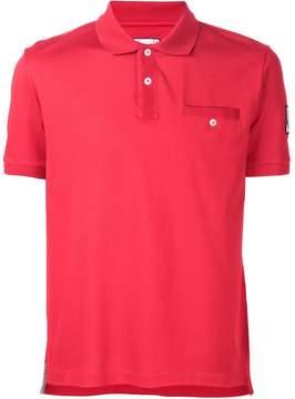 Moncler Gamme Bleu chest pocket polo shirt