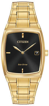 Citizen Men's Eco-Drive Tonneau Bracelet Watch