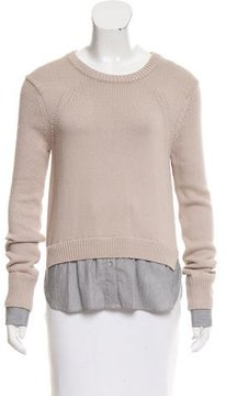 Brochu Walker Layered Long Sleeve Sweater
