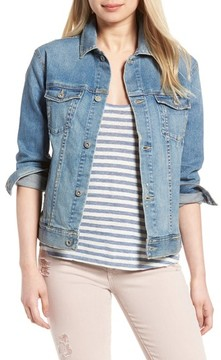 AG Jeans Women's The Nancy Boyfriend Denim Jacket