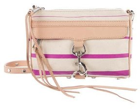 Rebecca Minkoff Canvas M.A.C. Crossbody Bag - PINK - STYLE