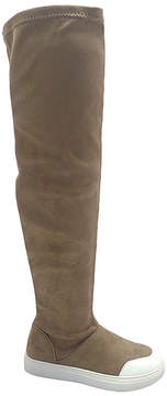 Wild Diva Taupe Cala Over-the-Knee Boot