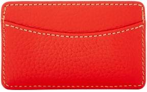 Dooney & Bourke Pebble Grain Business Card Case - RED - STYLE
