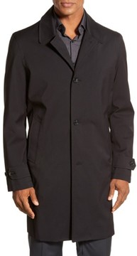 Michael Kors Men's Trim Fit Waterproof Overcoat