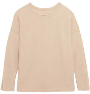 By Malene Birger Viala Wool And Mohair-blend Sweater - Beige