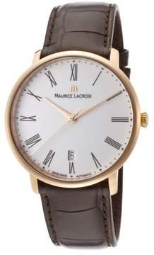 Maurice Lacroix Les Classiques LC6007-PG101-110 18K Rose Gold 38mm Mens Watch