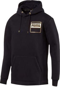 Puma Men's Rebel Metallic-Logo Hoodie