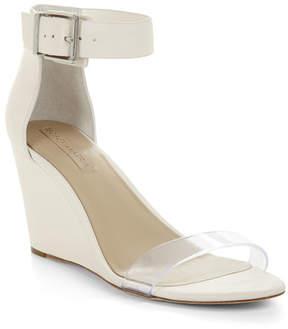 BCBGMAXAZRIA Latch Wedge Sandal