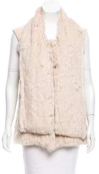Matthew Williamson Fur Knit Vest