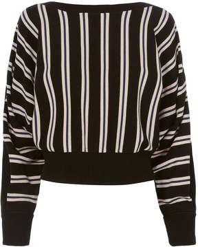 3.1 Phillip Lim Striped Boat Neck Pullover