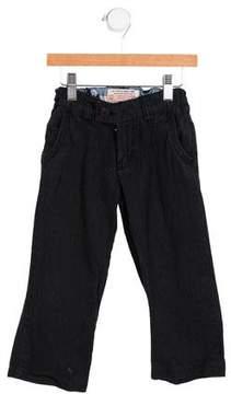Scotch Shrunk Boys' Pinstriped Straight-Leg Pants