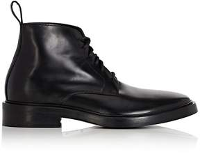 Balenciaga Men's Leather Lace-Up Boots
