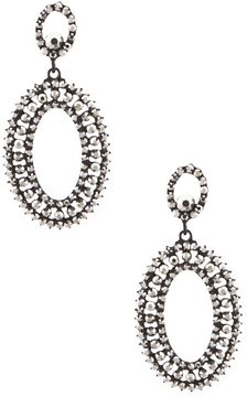 Anna & Ava Oval Statement Drop Earrings