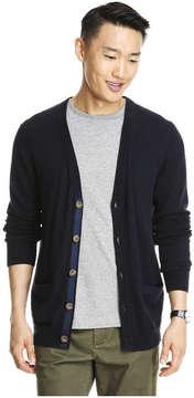 Joe Fresh Men's Soft Knit Cardigan, JF Midnight Blue (Size S)