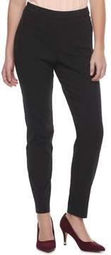 Elle Women's ElleTM Dot Pull-On Skinny Dress Pants