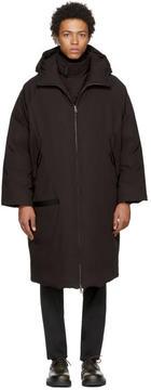 Jil Sander Brown Down Norimberga Coat