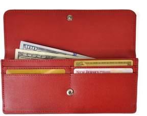 Royce Leather Women's Clutch Wallet in Saffiano Leather