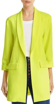 Alice and Olivia Alice + Olivia Angela Cuffed Long Blazer
