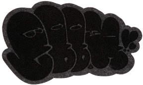 Junya Watanabe Black and Grey Wappen 8B Badge