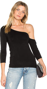 Central Park West Madison One Shoulder Top