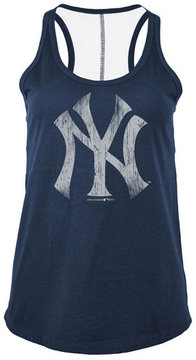 5th & Ocean Women's New York Yankees Foil Tank