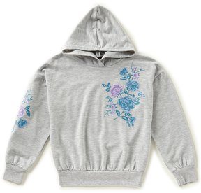 Xtraordinary Big Girls 7-16 Embroidered Pullover Hoodie Sweater