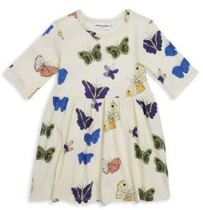Mini Rodini Baby's, Toddler's, Little Girl's & Girl's Butterflies Short-Sleeve Dress