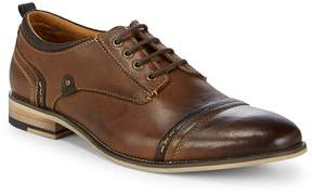 Steve Madden Men's Kobold Cap Toe Leather Derbys