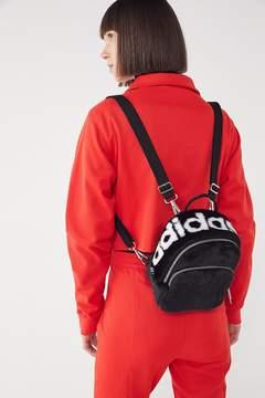 adidas Faux Fur Mini Backpack