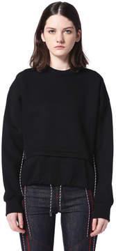 Diesel Black Gold Diesel Sweatshirts BGCOX - Black - M