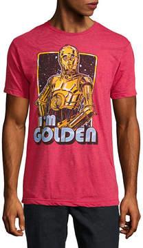 Star Wars Novelty T-Shirts C-3PO I'm Golden Graphic Tee