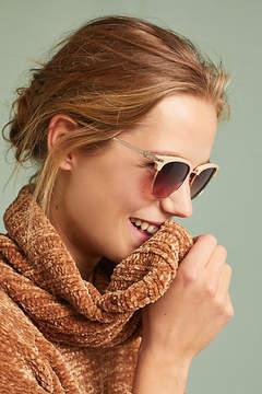 Anthropologie Matte Clubmaster Sunglasses
