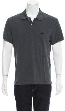 Marc Jacobs Logo-Embroidered Polo Shirt