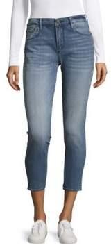 Driftwood Five-Pocket Cotton-Blend Jeans