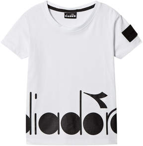 Diadora White Branded T-Shirt