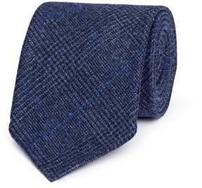 Drakes Drake ' S Glen plaid wool-cashmere flannel tie