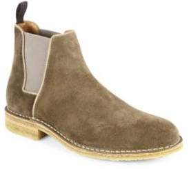 Aquatalia Oscar Waterproof Suede Chelsea Boots