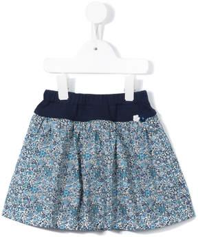 Familiar floral print skirt
