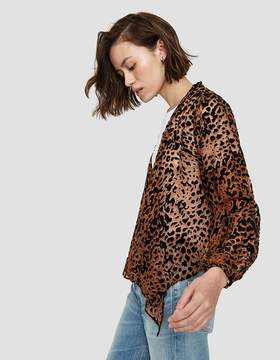 Which We Want Bryn Blouse in Leopard