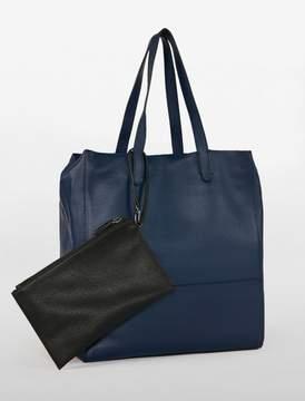 Calvin Klein workman north/south tote + wristlet pouch