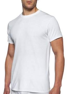 Gildan Big Men's Short Sleeve Crew White T-Shirt, 2 Pack, Size 2XL