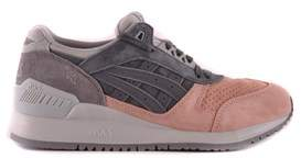 Asics Women's Grey Suede Sneakers.