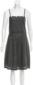 Emporio Armani Linen Midi Dress